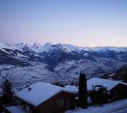 Uitzicht in de winter